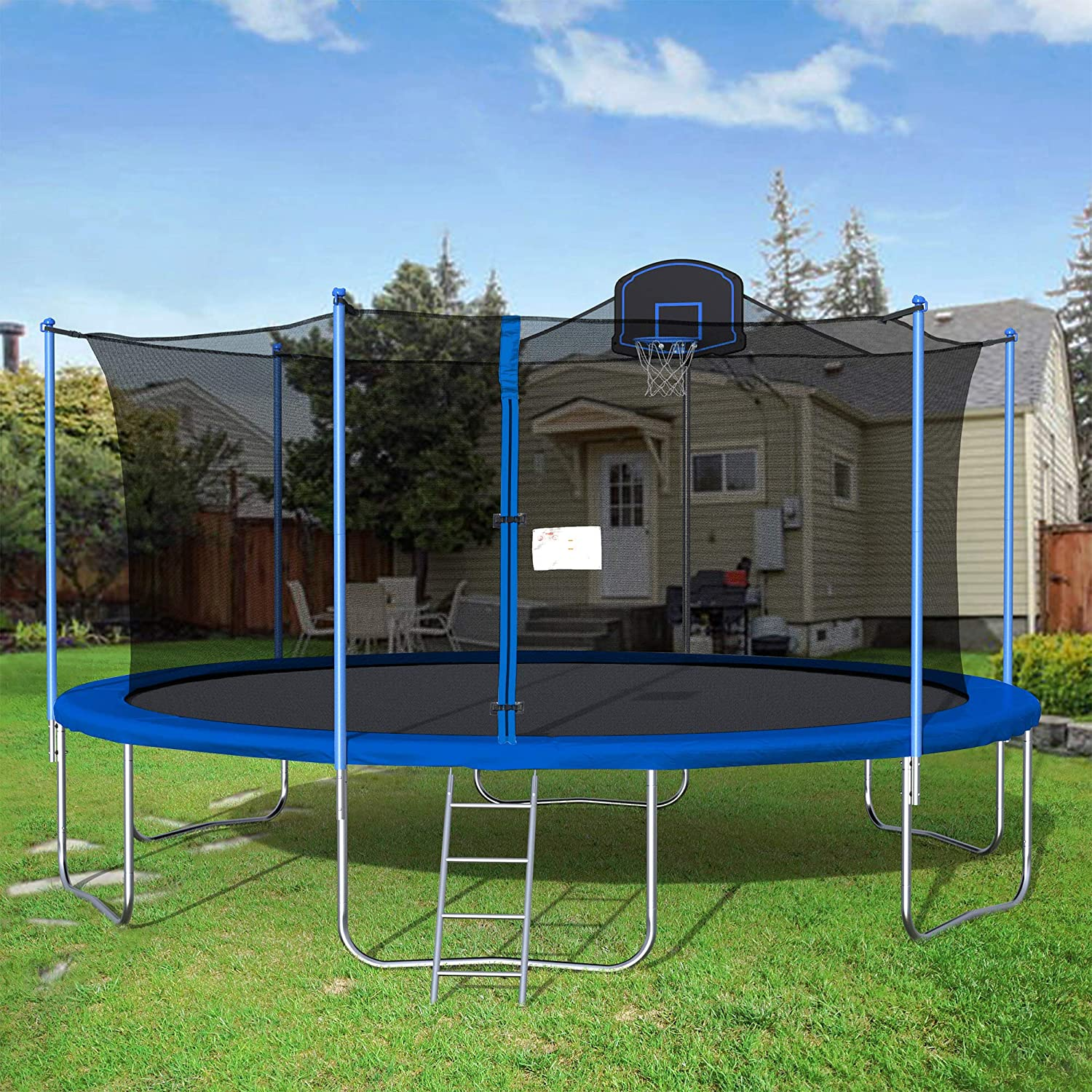 how is 16ft trampoline