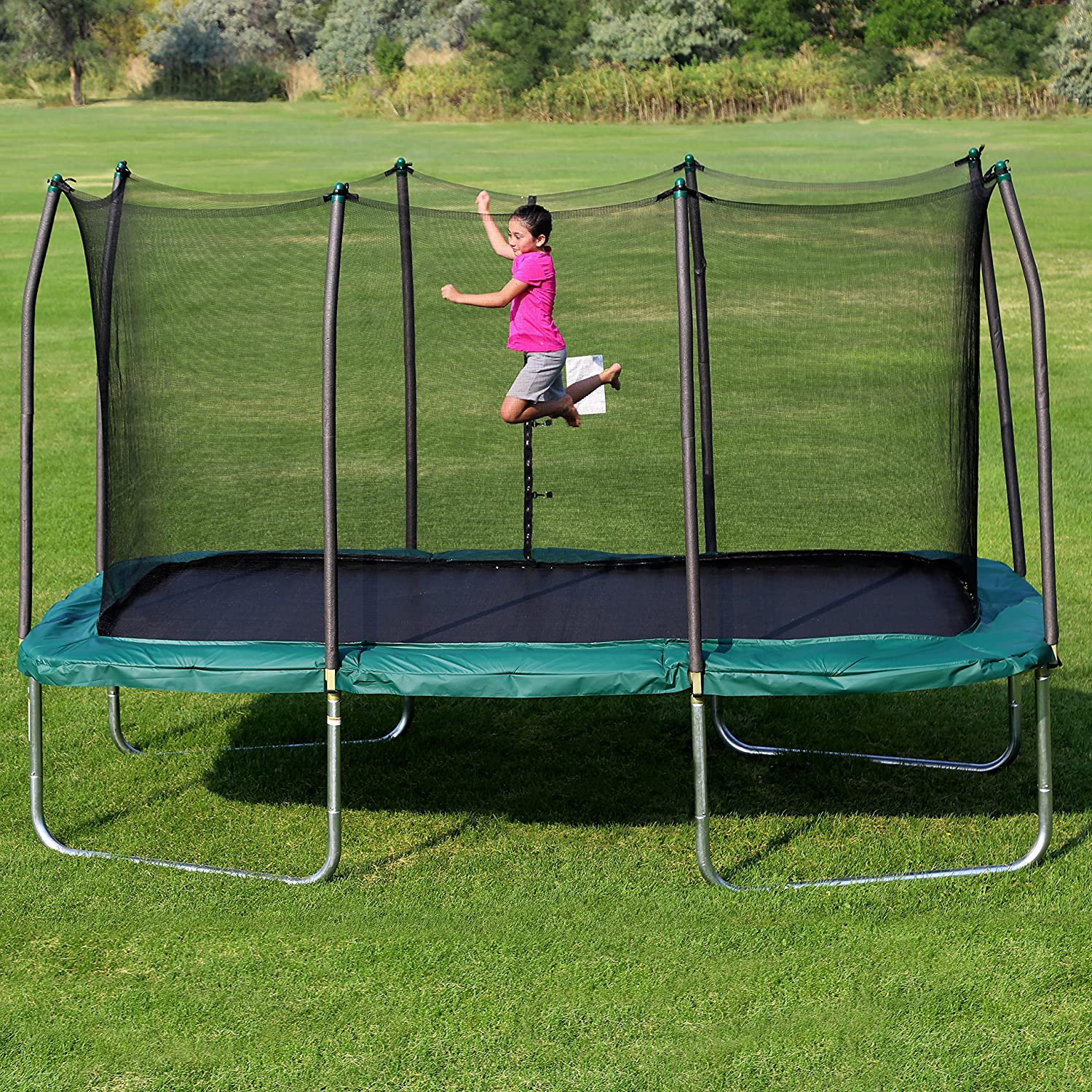 cheapest trampolines with net for sale