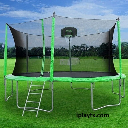 Best Outdoor-Outside Trampoline With Net For Backyard & Garden