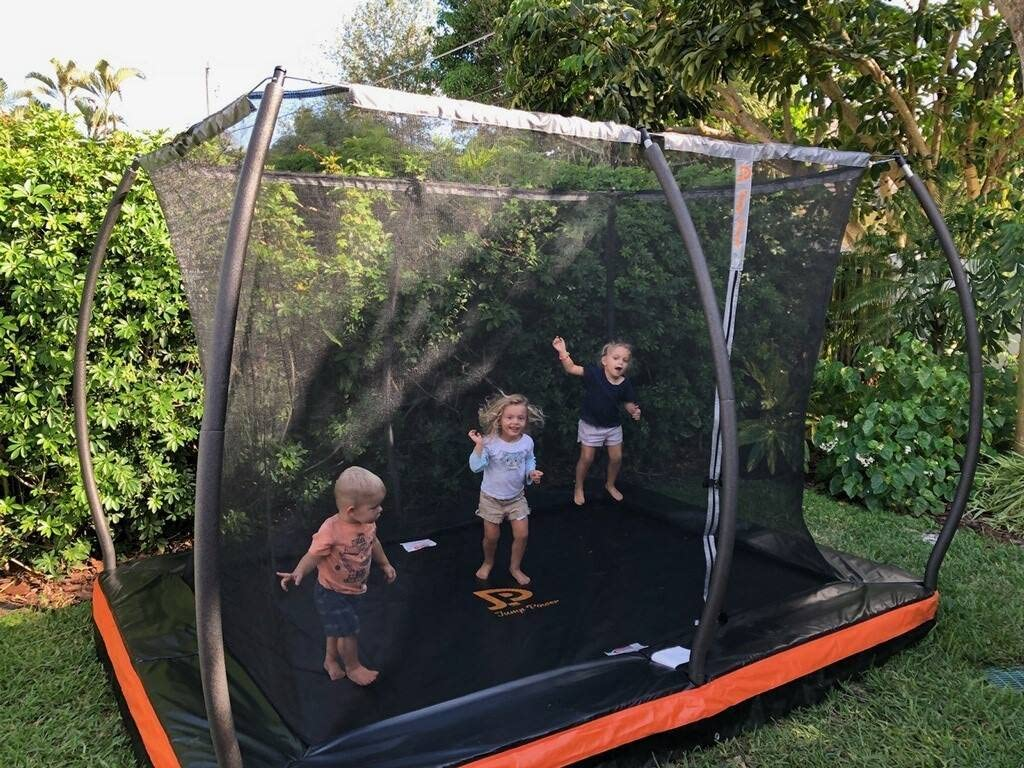 best trampolines in the ground