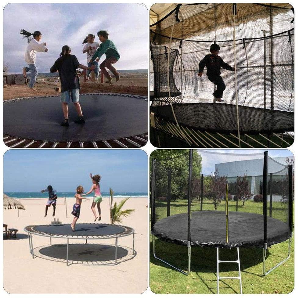 trampoline cover for winter
