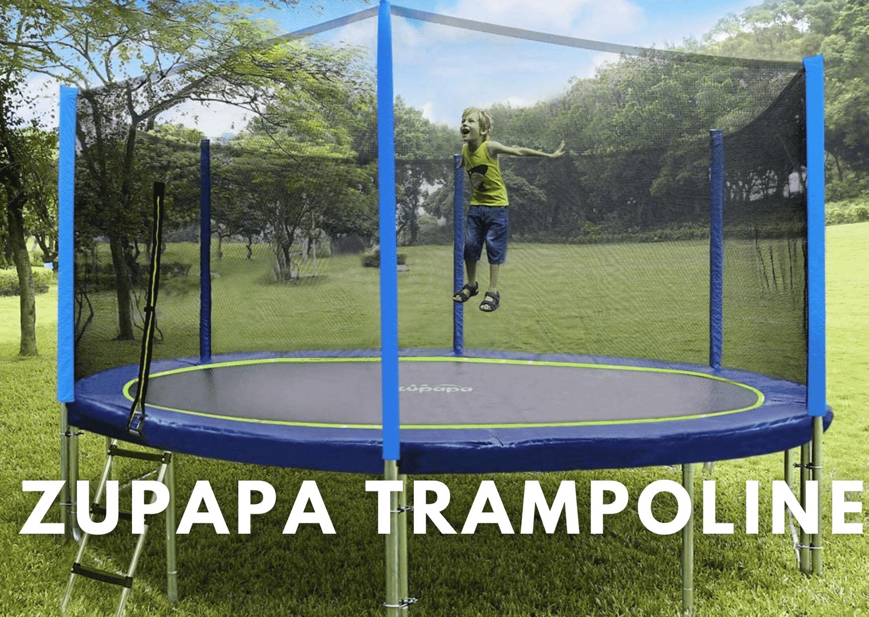 zupapa trampoline reviews