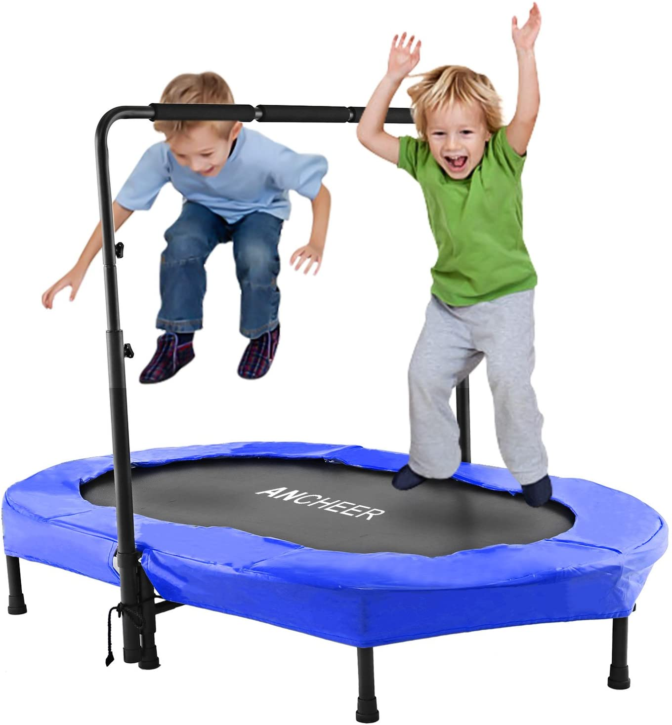 oval trampolines