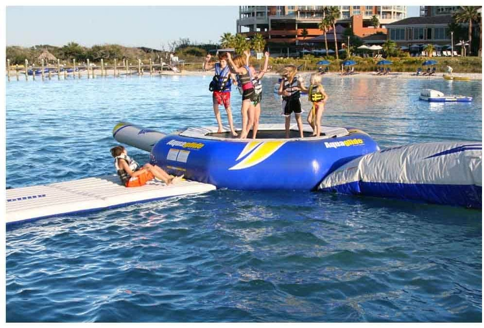 best water trampoline